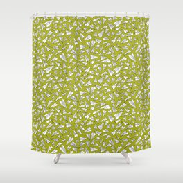 Plane paper. Shower Curtain