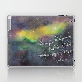 Merely a whisper Laptop & iPad Skin
