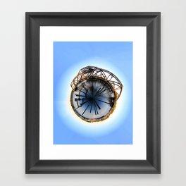 Polar Eye Framed Art Print