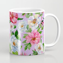 Vintage Floral Pattern No. 9 Coffee Mug