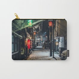 Japan Tokyo alley at Snowy Night Carry-All Pouch