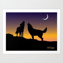Howl Together Art Print