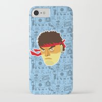 street fighter iPhone & iPod Cases featuring Ryu - Street Fighter by Kuki
