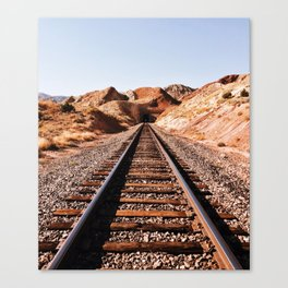 Lonesome Whistle Canvas Print