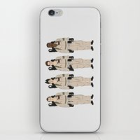 ghostbusters iPhone & iPod Skins featuring Ghostbusters - Team by V.L4B