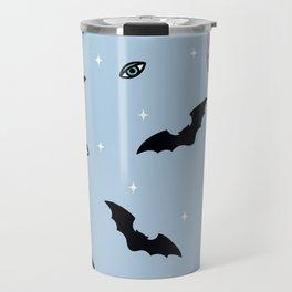 bats and crystals Travel Mug