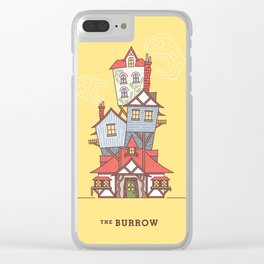 The Burrow Clear iPhone Case
