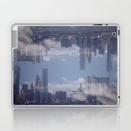Upside Down City Laptop & iPad Skin