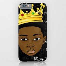 A Black Love Letter 2 iPhone Case