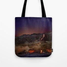 Kilauea Volcano Lava Flow. 6 Tote Bag