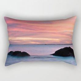 Natural Watercolors Rectangular Pillow