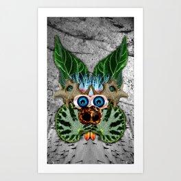 Begonia Being Art Print