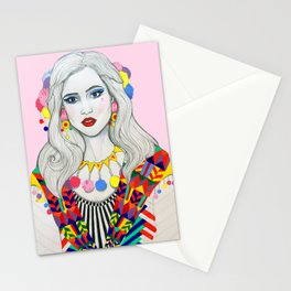 Colourful Fashion Stationery Cards