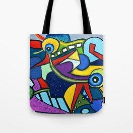 Pterodactyl Smile Tote Bag
