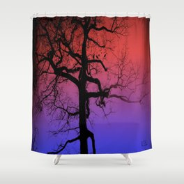 The tree Shower Curtain
