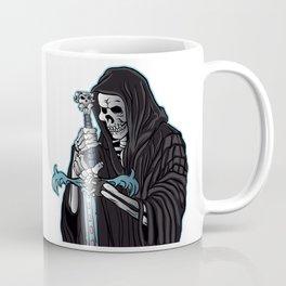 grim reaper with sword .grim reaper tattoo. Coffee Mug