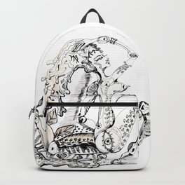A woman as sign Virgo Backpack