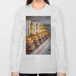 Golden Buddhas Long Sleeve T-shirt