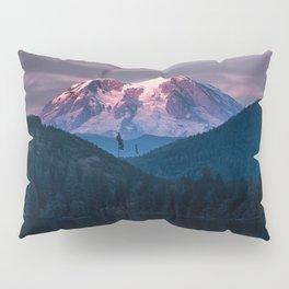 Sunset Mt. Rainier, Mineral, Washington Pillow Sham