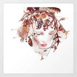 The Faun Art Print
