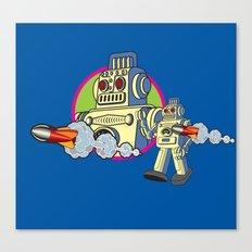 Robot 2.0 Canvas Print