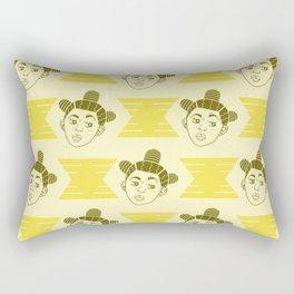 Hive Mind Yellow Rectangular Pillow