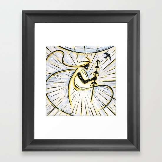 Orixás - Oxala Framed Art Print