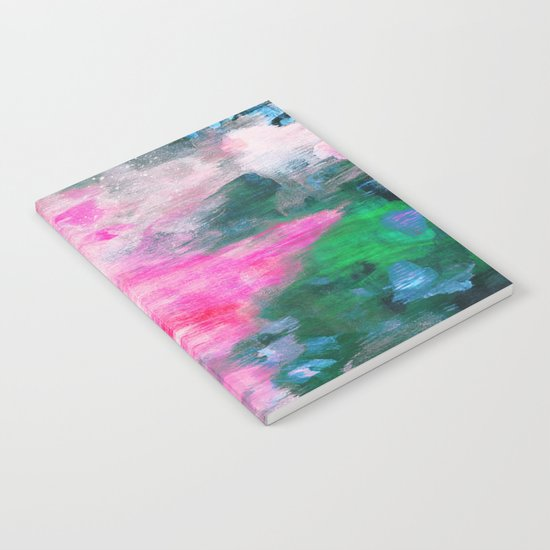 pink mountains Notebook