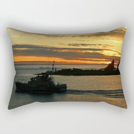 The End Of A Beautiful Day Rectangular Pillow