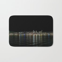 Seattle Night Sea Bath Mat