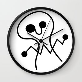 GHOSTHING Wall Clock