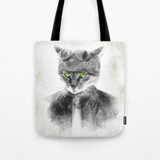 Biker Cat Tote Bag