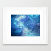 lunar Framed Art Prints featuring Lunar by TenelArt