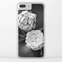 A Pair of Roses Clear iPhone Case