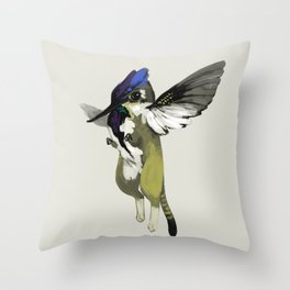 Tiny Griffin (3 of 3) Throw Pillow