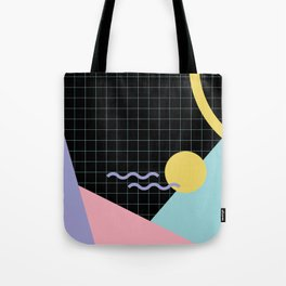 Memphis Pattern 7 - 80s - 90s - Retro Tote Bag