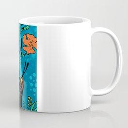 Turquoise Butterfly Coffee Mug