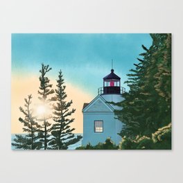 Shine the Light Canvas Print