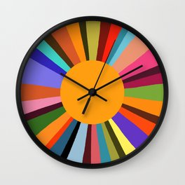 technicolor dream 003 Wall Clock
