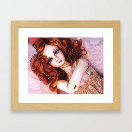 Venus in Furs Framed Art Print