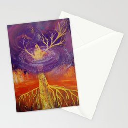 Being of Light Stationery Cards