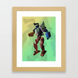 Combiner Super Robot One Sheet Framed Art Print