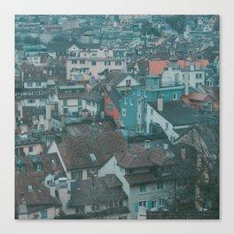 Zurich High Up Canvas Print