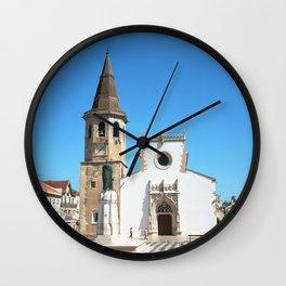 Tomar, Portugal (RR 189) Analog 6x6 odak Ektar 100 Wall Clock