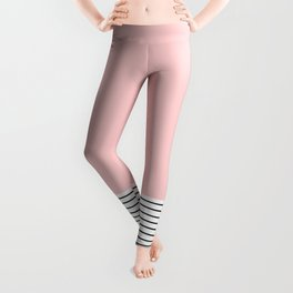 Pink n Stripes  Leggings