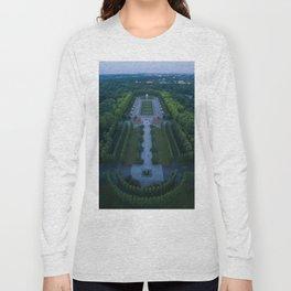 berlin russia memorial drone aerial view park Long Sleeve T-shirt