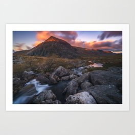 (RR 299) Snowdonia - Wales - UK Art Print