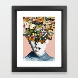 Twiggy Surprise Framed Art Print