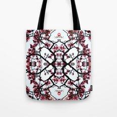 magnolia silhouette Tote Bag