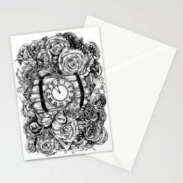 Bomb in the flowers Stationery Cards